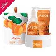 Jason Glowing Apricot Gift Set