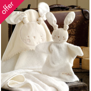 Natures Purest Bunny Bathtime Gift Set