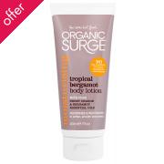 Organic Surge Body Lotion - Tropical Bergamot - 200ml