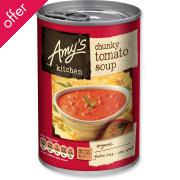 Amy's Kitchen Chunky Tomato Soup - 400g