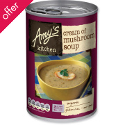 Amy's Kitchen Cream of Mushroom Soup - 400g
