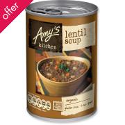 Amy's Kitchen Lentil Soup - 400g