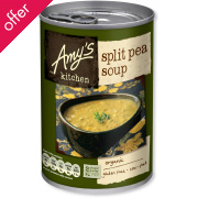 Amy's Kitchen Split Pea Soup - 400g