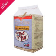 Bobs Red Mill Pure Rolled Oats - 400g
