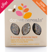 Dorset Cereals Cereal Bars - Honey Granola - Pack of 3 - 40g