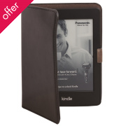 Recycled Leather E-reader Case - Black