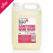 Bio D Hand Sanitiser - Geranium - 5l