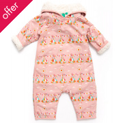 Teepee Snowsuits - Pink Teepee