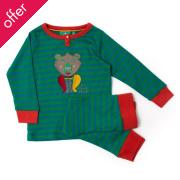 Winter Bear Applique Pyjamas