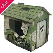 Cardboard Army HQ Playhouse