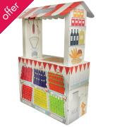 Cardboard Farm Store Playhouse