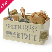 Greenhouse Caddy - Jersey Cream