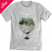 Rapanui Organic Cotton Home Planet Men's T-Shirt