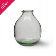 Recycled Glass Vase - Small