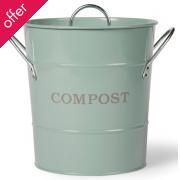 Compost Bucket 3.5L - Shutter Blue