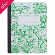 Decomposition Ruled Notebook - Dinosaurs