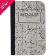 Decomposition Mini Pocket Notebook - Topographical