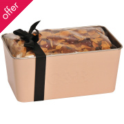 Cartwright & Butler Cherry & Almond Loaf Cake In Loaf Tin - 520g