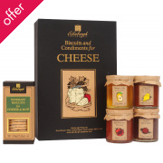 Edinburgh Preserves Biscuits & Condiments for Cheese