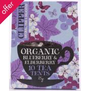 Clipper Blueberry & Elderberry Tea- 10 Bags