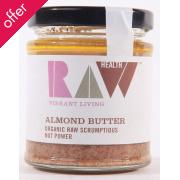 Raw Health Whole Raw Organic Almond Butter - 170g