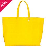 Wilby Primrose Yellow Tote