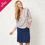 Braintree Queenie A-Line Denim Skirt