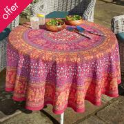 Jaipur Elephant Tablecloth