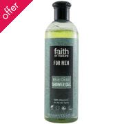 Faith In Nature Mens Blue Cedar Shower Gel - 400ml