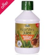 Optima Aloe Pura Aloe Vera & Manuka Honey Juice - 500ml