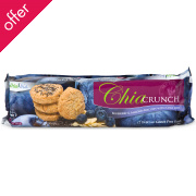 Chia Crunch Blueberry & Almond with Chia Seeds Biscuits