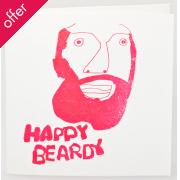 Arthouse Meath Charity Happy Beardy Birthday Card