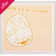 Arthouse Meath Charity Crazy as a Coconut Birthday Card