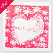 Arthouse Meath Charity Mum's My World Mothers Day Card