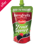 EasiYo Berryfruit Squirt Fruit Topping - 250g
