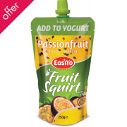 EasiYo Passionfruit Squirt Fruit Topping - 250g