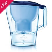 Brita Aluna Water Filter Jug - Cool Frosted Blue - 1.4L