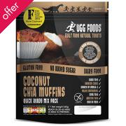 Coconut Chia Muffins