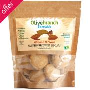 Olive Branch Gluten/Dairy Free Sweet Biscuits - Almond & Clove - 130g