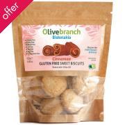 Olive Branch Gluten/Dairy Free Sweet Biscuits - Cinnamon - 130g