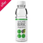 Sealand Birk Organic Birch Tree Water - Ginger & Lime - 330ml