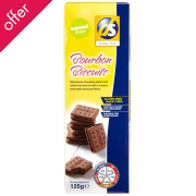 DS Gluten Free Bourbon Biscuits - 125g