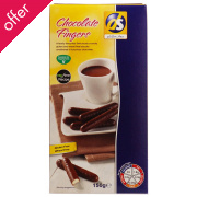 DS Gluten Free Chocolate Fingers - 150g