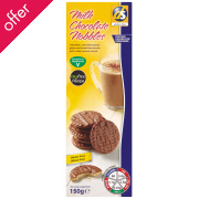 DS Gluten Free Chocolate Nobble Biscuits - 150g