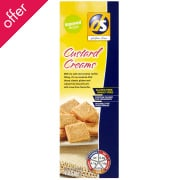 DS Gluten Free Custard Cream Biscuits - 125g