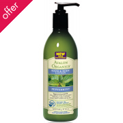Avalon Organics Hand & Body Lotion - Peppermint - 340g