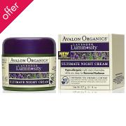 Avalon Organics Ultimate Night Cream - 50g