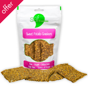 Saf Express Raw Sweet Potato Crackers - 80g