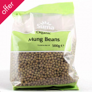 Suma Prepacks Organic Mung Beans 500g