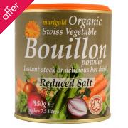 Marigold Organic Bouillon Reduced Salt 140g